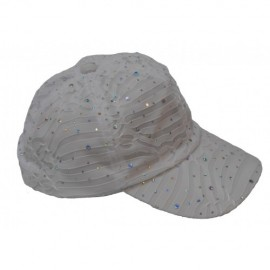 Unique Sports Cushees Cotton Clip on Visor White
