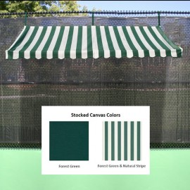 Fence Cabana Replacement Canopy (shady Court) 10' - Te301-rc - Tennis Court Equipment Ball Machines TE301-RC