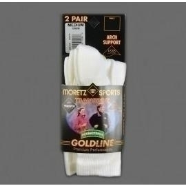 Goldline Transpor Crew 9-11 (2 Per Pack) - Mgl-2564.19 - Clothing Socks Goldtoemoretz MGL-2564.19