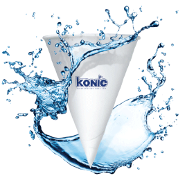 Konie Cone Paper Cups 4.5 Oz. For Igloo Dispenser (case/5000) - Te29-7-2 - Tennis Court Equipment Cooler Accessories TE29-7-2