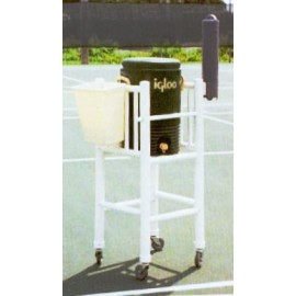 Pvc Igloo Cooler Beverage Cart - Te112 - Tennis Court Equipment TE112