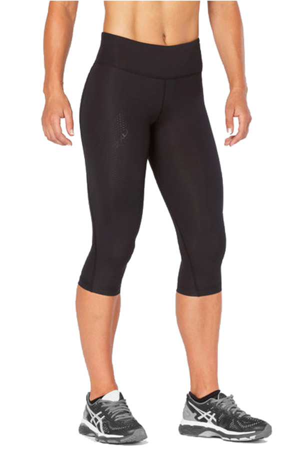 2xu Womens Mid-rise Compression 3 4 Tight - C2xwp0 - Athletics Tennis Training C2XWP0