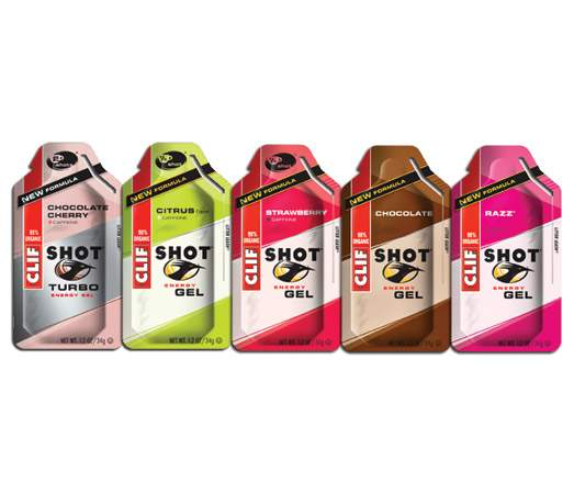 Clif Shot Energy Gel 1x - Qclif8 - Tennis Training Drinks & Nutruition QCLIF8