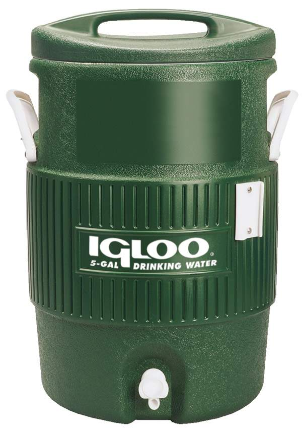 Igloo Tennis Coolers Cooler 5 Gallon Green - Dcool1 - Tennis Coolers DCOOL1