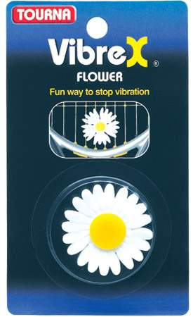 Tourna Vibrex Flower Dampener 1x - Quvf - Tennis Grips And Accessories Vibration Dampeners QUVF