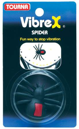 Tourna Vibrex Spider Dampener 1x - Quvs - Tennis Grips And Accessories Vibration Dampeners QUVS