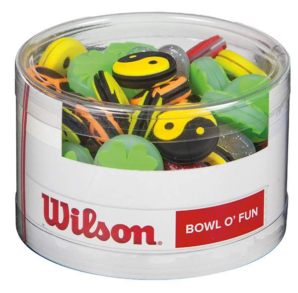 Wilson Bowl O Fun Dampeners 75x - Qwbof - Tennis Grips And Accessories Vibration Dampeners QWBOF