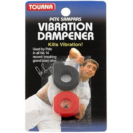 Tennis Grips & Accessories Vibration Dampeners - 1109 - Tourna Sampras Dampener 2/pk 1109