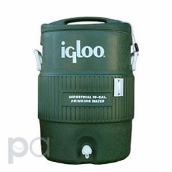 Tennis Court Enhancements - 10gal-igc-grn - Igloo Cooler 10 Gallon - Green 10GAL-IGC-GRN